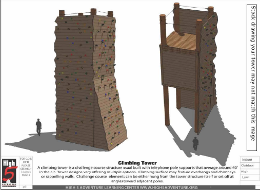 Climbing Tower Element Information