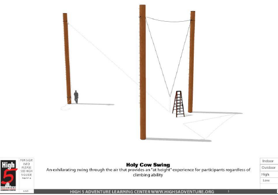 Holy Cow Swing element information image